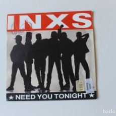 Discos de vinilo: INXS SINGLE, NEED YOU TONIGHT / I´M COMING. 1987. Lote 213848103