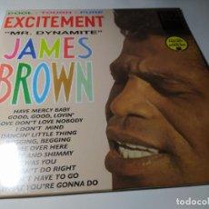 Dischi in vinile: LP - JAMES BROWN – EXCITEMENT - MR. DYNAMITE - 772069 - ¡ NUEVO!. Lote 213856640