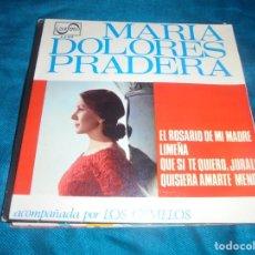 Discos de vinilo: MARIA DOLORES PRADERA. EL ROSARIO DE MI MADRE + 3. EP. ZAFIRO, 1965. Lote 213858872