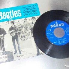 Discos de vinilo: THE BEATLES ---WHAT YOU´RE DOING --- EDICION 1964 -- LABEL AZUL FUERTE -- MINT ( M ). Lote 197216272