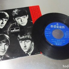 Discos de vinilo: THE BEATLES --ROLL OVER BEETHOVEN +3 LABEL AZUL FUERTE- VINILO VG ++ FUNDA ( NEAR MINT (NM OR M-). Lote 207966628