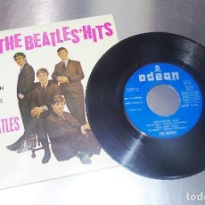 Discos de vinilo: THE BEATLES --SHE LOVE YOU & FROM ME TO YOU +2-- LABEL AZUL FUERTE-- ( MINT ( M ). Lote 207967716