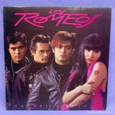 Discos de vinilo: LP LOS ROMEOS -- MADRID 1992 -- VG+. Lote 213861795