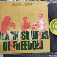 Discos de vinilo: BLACK UHURU LP BLACK SOUNDS OF FREEDOM U.S.A. 1982. Lote 213868070