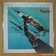 Discos de vinilo: AZUL Y NEGRO - SUSPENSE - GATEFOLD - LP. Lote 213871853