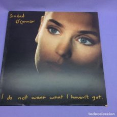Discos de vinilo: LP SINÉAD -- O'CONNOR -- I DO NOT WANT WHAT I HAVEN'T GOT -- MADRID 1990 -- VG+. Lote 213873692