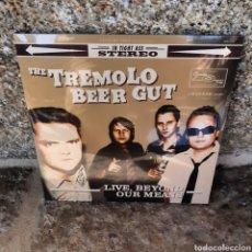 Discos de vinilo: THE TREMOLO BEER GUT 'LIVE, BEYOND OUR MEANS' LP ¡NUEVO!. Lote 213874476