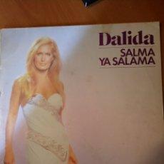 Discos de vinilo: DALIDA. SALMA YA SALAMA. LP.. Lote 213874845