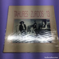 Discos de vinilo: LP TAHURES ZURDOS -- 13-- ESPAÑA 1991 -- VG+. Lote 213877046
