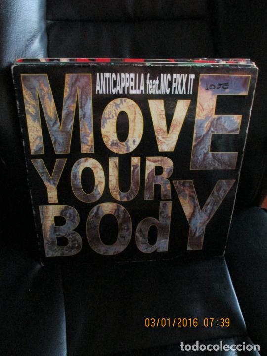ANTICAPPELLA FEAT. MC FIXX IT ?– MOVE YOUR BODY (Música - Discos de Vinilo - Maxi Singles - Techno, Trance y House)