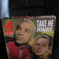 Discos de vinilo: TWENTY 4 SEVEN FEATURING STAY-C AND NANCE ?– TAKE ME AWAY. Lote 213877893