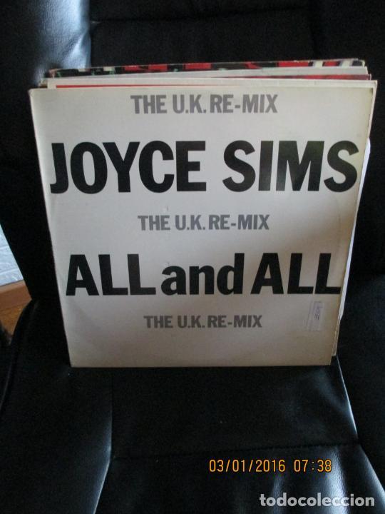 JOYCE SIMS ?– ALL AND AL (THE U.K. RE-MIX) (Música - Discos de Vinilo - Maxi Singles - Techno, Trance y House)
