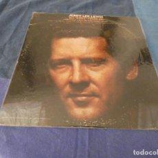 Discos de vinilo: LP JERRY LEE LEWIS THE KILLER ROCKS ON USA 1972 PORTADA BIEN CON DESTEÑIMIENTO VINILO OK. Lote 213882398