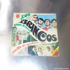 Dischi in vinile: LOS BRINCOS --- NADIE TE QUIERE YA & YOU KNOW -- VINILO NEAR MINT ---FUNDA VG ++. Lote 213884667