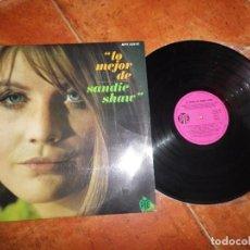 Discos de vinilo: SANDIE SHAW LO MEJOR DE SANDIE SHAW EUROVISION 67 LP VINILO 1967 TEMAS CANTADOS EN ESPAÑOL 14 TEMAS. Lote 213891987