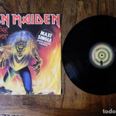 Discos de vinilo: IRON MAIDEN THE NUMBER OF THE BEAST MAXI SINGLE. Lote 213903906