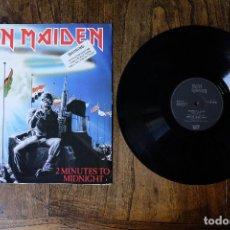Discos de vinilo: IRON MAIDEN 2 MINUTES TO MIDNIGHT MAXI SINGLE EDICION UK. Lote 213905281