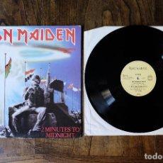 Discos de vinilo: IRON MAIDEN 2 MINUTES TO MIDNIGHT MAXI SINGLE EDICION ALEMANA. Lote 213905736