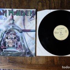 Discos de vinilo: IRON MAIDEN ACES HIGH MAXI SINGLE EDICION ALEMANA. Lote 213905892