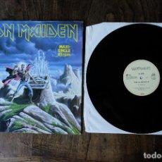 Discos de vinilo: IRON MAIDEN RUN TO THE HILLS LIVE MAXI SINGLE. Lote 213907730