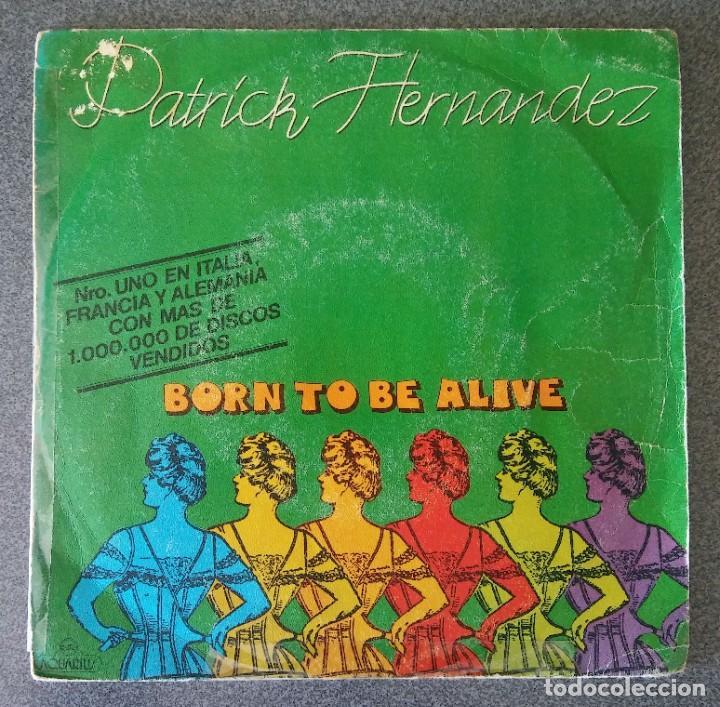 VINILO EP PATRICK HERNANDEZ BORN TO BE ALIVE (Música - Discos de Vinilo - EPs - Disco y Dance)