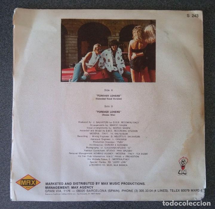 Discos de vinilo: Vinilo Ep Italian Boys Forever Lovers - Foto 3 - 213912550