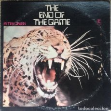 Discos de vinilo: PETER GREEN ‎– THE END OF THE GAME. Lote 213913575