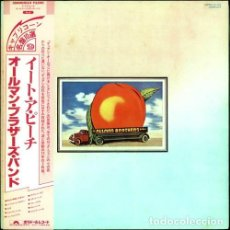 Discos de vinilo: THE ALLMAN BROTHERS BAND ?– EAT A PEACH. Lote 213915033