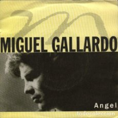 Discos de vinilo: MIGUEL GALLARDO, ANGEL - MAXI-SINGLE SPAIN 1991. Lote 213917832