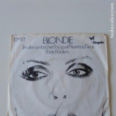 Discos de vinilo: BLONDIE I'M ALWAYS TOUCHED BY YOUR PRESENCE DEAR / POETS PROBLEM ( 1978 CHRYSALIS GERMANY ). Lote 213919913