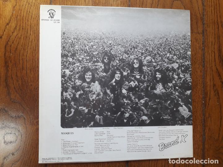 Discos de vinilo: Brand x - Masques - Foto 2 - 213937961