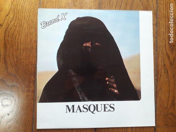 BRAND X - MASQUES (Música - Discos - LP Vinilo - Jazz, Jazz-Rock, Blues y R&B)