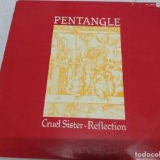 Discos de vinilo: PENTANGLE – CRUEL SISTER - REFLECTION--DOBLE LP EDICION ESPAÑOLA 1979. Lote 213942315