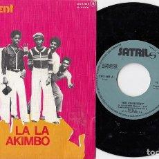 Dischi in vinile: MR PRESIDENT - LA LA KIMBO- SINGLE DE VINILO EDICION ESPAÑOLA CALYPSO REGGAE #. Lote 213945387