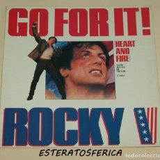 Discos de vinilo: ROCKY V - GO FOR IT! - CAPITOL RECORDS 1990. Lote 213946145