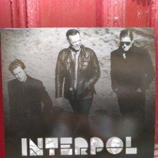 Discos de vinilo: INTERPOL PIONEER. LIVE PIAZZA CASTELLO FERRARA, ITALY. LP VINILO NUEVO. Lote 213949660