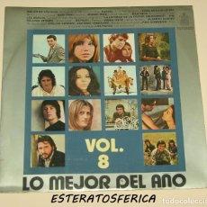Discos de vinilo: LO MEJOR DEL AÑO VOL 8 - HISPAVOX 1971 - KARINA - THE ROLLING STONES - ANONIMO VENEZIANO - LOS PAYOS. Lote 213950901