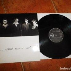 Discos de vinilo: TAKE THAT NO SI AQUI NO HAY AMOR CANTADO EN ESPAÑOL MAXI SINGLE VINILO DEL AÑO 1994 ESPAÑA 5 TEMAS. Lote 213952836