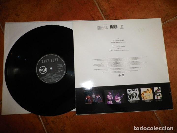 Discos de vinilo: TAKE THAT No si aqui no hay amor CANTADO EN ESPAÑOL MAXI SINGLE VINILO DEL AÑO 1994 ESPAÑA 5 TEMAS - Foto 3 - 213952836