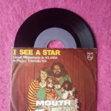 Dischi in vinile: SINGLE MOUTH & MACNEAL - I SEE A STAR - 6012 424 - PORTUGAL PRESS (VG/EX-) EUROVISION 74. Lote 213959857