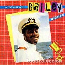 Discos de vinilo: ADMIRAL BAILEY – UNDISPUTED. Lote 213959880