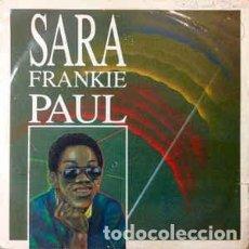 Discos de vinilo: FRANKIE PAUL – SARA. Lote 213960532