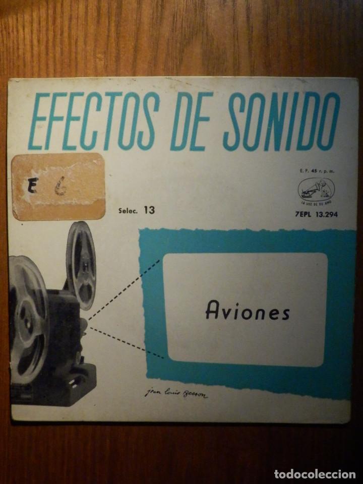 Discos de vinilo: 5 SINGLES - EMI - EFECTOS DE SONIDO - ANIMALES, AVIONES, TRENES, DEPORTES, TRANSPORTES - Foto 3 - 213961311
