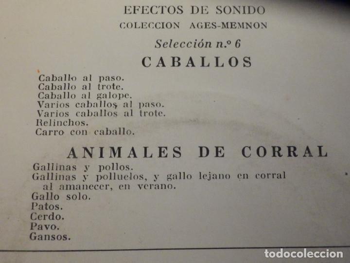 Discos de vinilo: 5 SINGLES - EMI - EFECTOS DE SONIDO - ANIMALES, AVIONES, TRENES, DEPORTES, TRANSPORTES - Foto 7 - 213961311