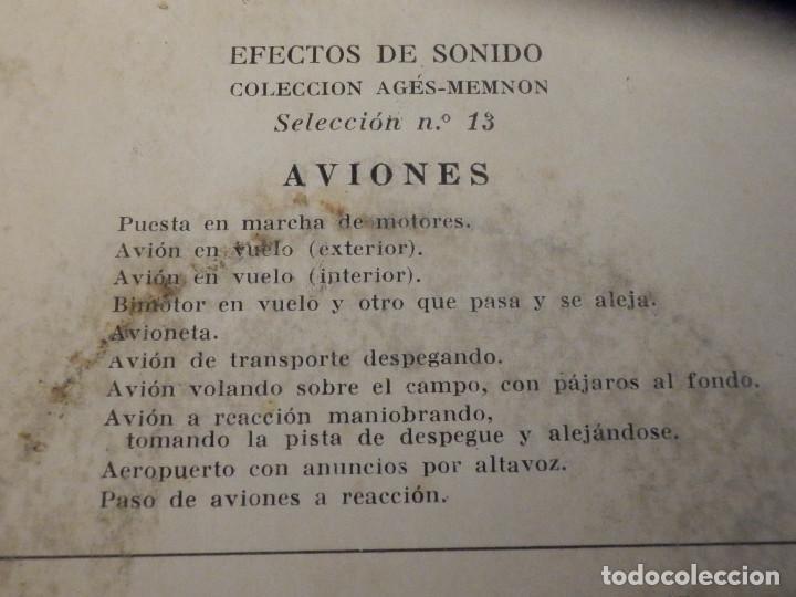 Discos de vinilo: 5 SINGLES - EMI - EFECTOS DE SONIDO - ANIMALES, AVIONES, TRENES, DEPORTES, TRANSPORTES - Foto 11 - 213961311