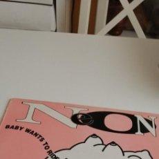 Discos de vinilo: BAL-6 DISCO GRANDE 12 PULGADAS NEON - BABY WANTS TO RIDE. Lote 213962186