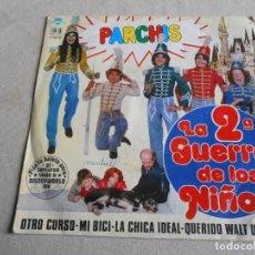 Dischi in vinile: PARCHIS - LA 2ª GUERRA DE LOS NIÑOS -, SG, OTRO CURSO + 3, AÑO 1981. Lote 213964221