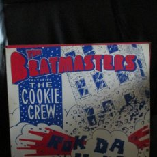 Discos de vinilo: THE BEATMASTERS FEATURIN THE COOKIE CREW ?– ROK DA HOUSE. Lote 213974182