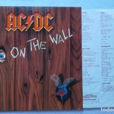Disques de vinyle: LP AC/DC FLY ON THE WALL. Lote 213974392