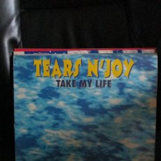 Discos de vinilo: TEARS N'JOY* ?– TAKE MY LIFE. Lote 213974660